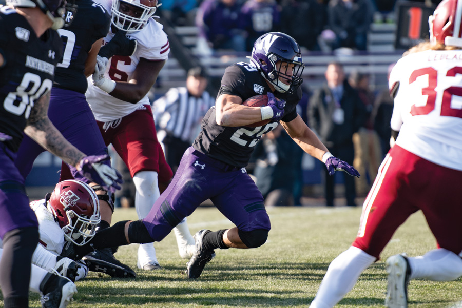 Northwestern Football Playing More Youth As Season Winds To A Close
