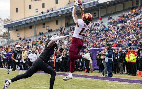 Football: Bateman, Johnson torch Northwestern defense to tune of 4 receiving touchdowns