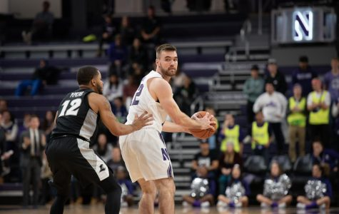 Men's Basketball: Northwestern's offense slips down the stretch against Pittsburgh