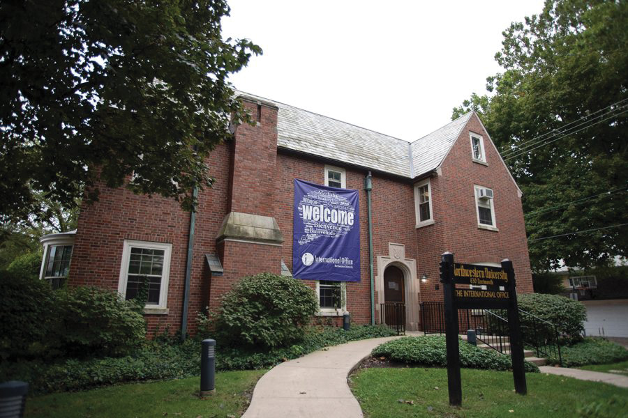 Northwestern's International Office provides support and advising services to international students at the University. According to the office, 36 students enrolled at the University last academic year.