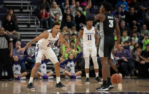 Men's Basketball: Northwestern upsets Providence for first win of season