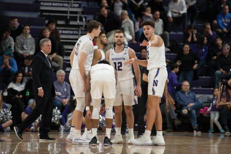 Men's Basketball: Northwestern leaning heavily on its starters so far in 2019