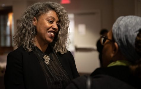 Director of the Women's Center Sekile Nzinga receives award from YMCA Evanston/North Shore