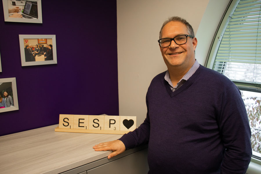 SESP Dean David Figlio. In an interview with The Daily, Figlio reflected on successes and areas for growth over his time in the role so far.