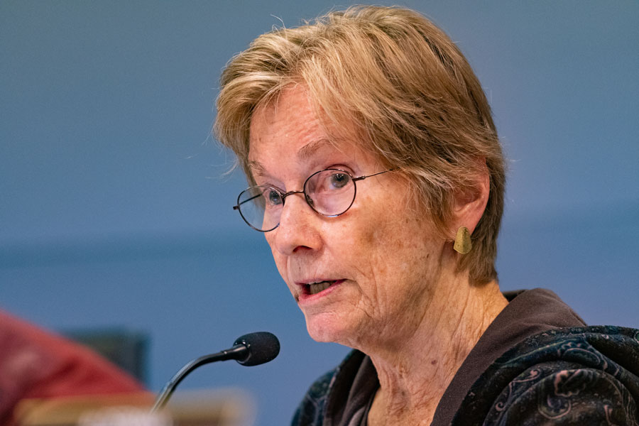 Ald. Eleanor Revelle (7th). Revelle said she didn't believe Northwestern has met the standards necessary to hold for-profit events.