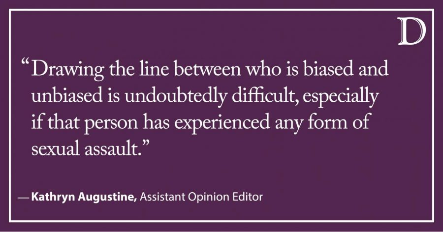 Augustine: The voices of victims of sexual assault deserve to be heard in juries