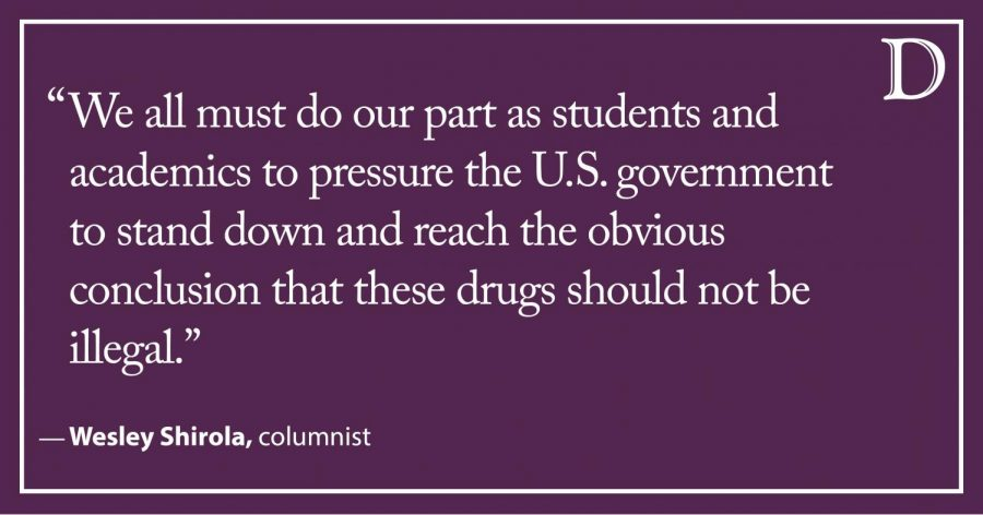 Shirola: It's time to end our hypocritical stance on drug policy and take a more common sense approach