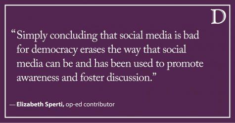 Sperti: Social media: A complex but necessary tool in democracy