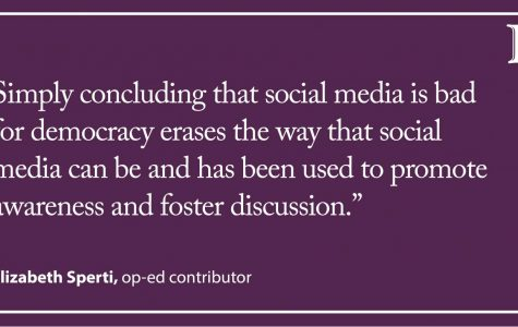 Sperti: Social media: A complex but necessary tool in democracy