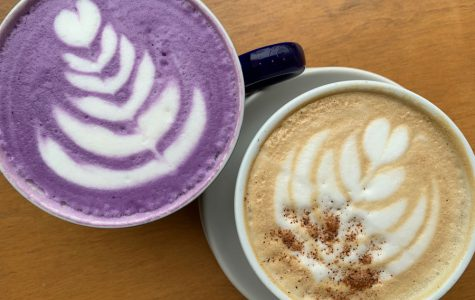 This season, Coffee Lab & Roasters offers unique drinks like a Nutella Latte, White Chocolate Mocha and Maple Latte. Owner Daniel Aquino also developed a recipe for a bright purple Ube Coconut Latte.