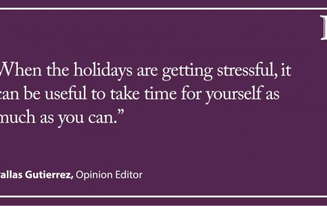 Gutierrez: Surviving the holidays at home