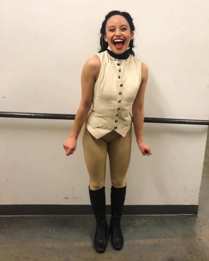 "Q&A: NU alum Chloe Nadon-Enriquez talks joining cast of ""Hamilton,"" time at Northwestern"