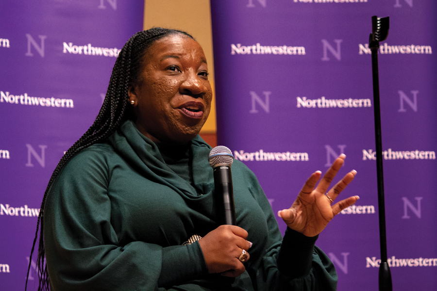 Activist Tarana Burke delivers a keynote address on community healing from sexual abuse in marginalized communities. Burke has been organizing for years and is the founder of the #MeToo movement