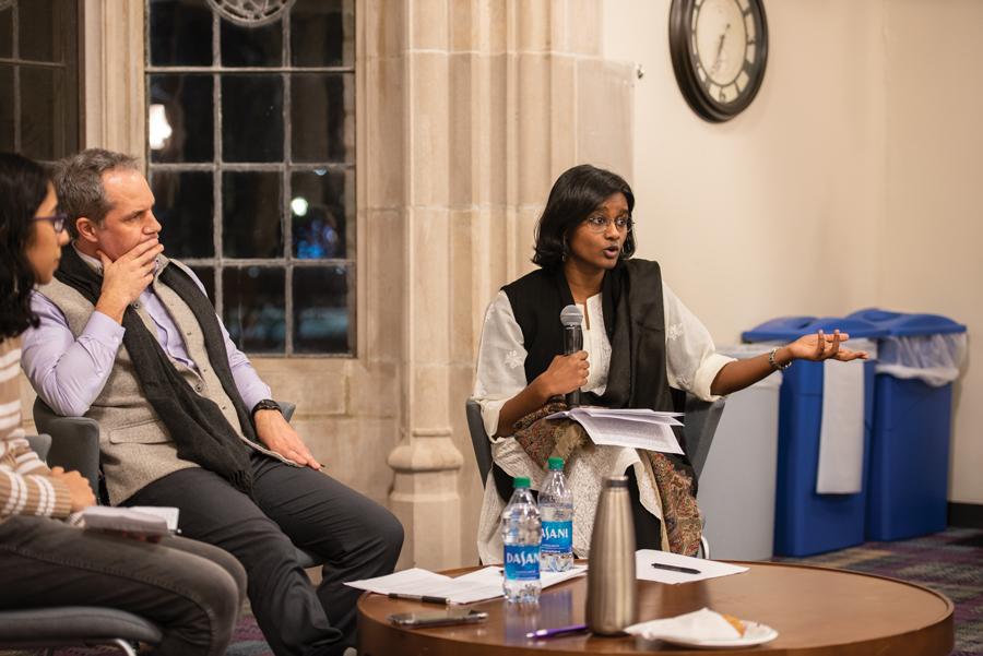 Raina Bhagat, Tyler Williams and Krithika Ashok discuss the new Indian citizenship law.