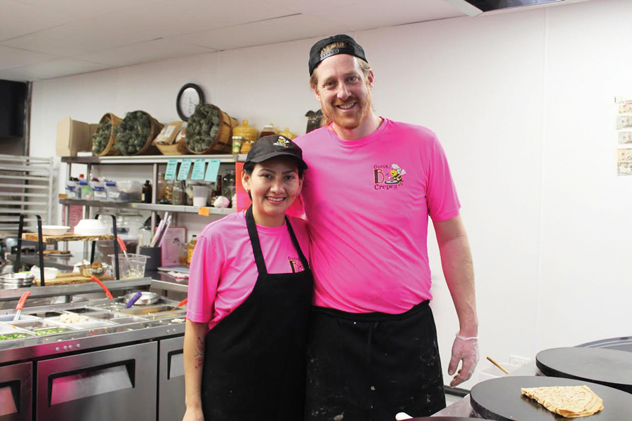Ryan+and+Kathia+Jones+founded+Gotta+B+Crepes+in+2010.+They+opened+their+restaurant+location+at+2901+Central+St.+in+November+2018.%0A