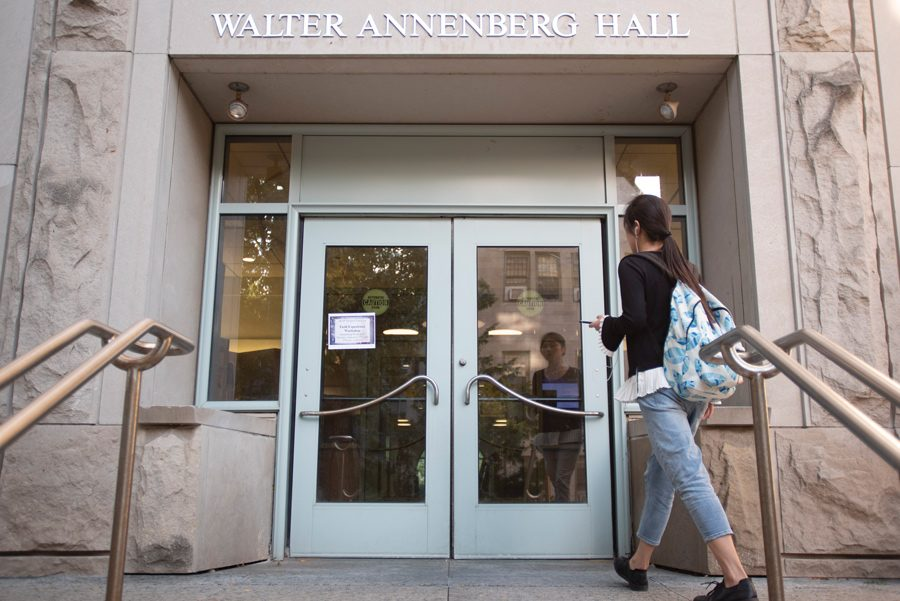 Walter Annenberg Hall, home to the School of Education and Social Policy.