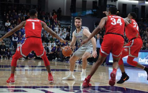 Men's Basketball: Northwestern 'hammered' in blowout loss to Michigan State