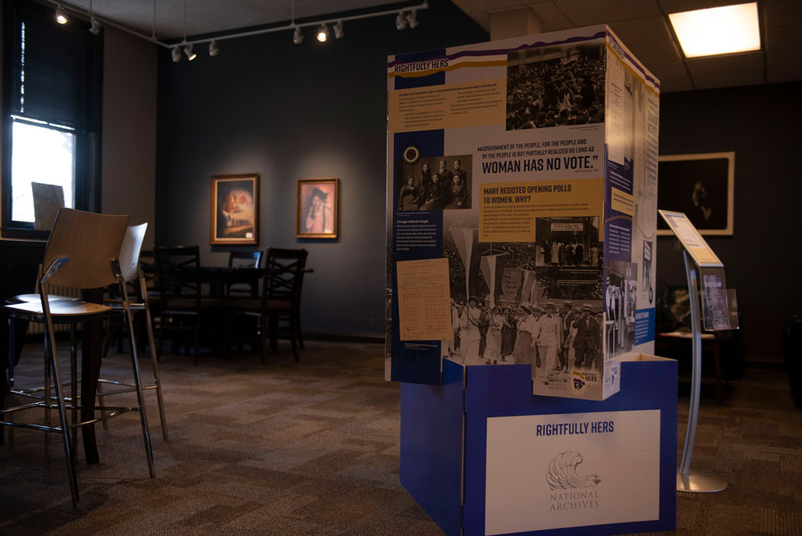 Women's suffrage exhibit highlights 19th Amendment, beyond