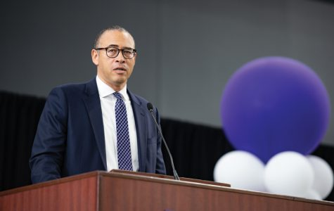 Provost Jonathan Holloway. Holloway took over as Northwestern's provost in Summer 2017, coming to the University from Yale College.