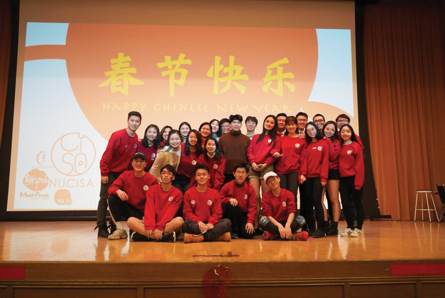 Members of CISA. The student organization will be producing their annual Spring Festival on Jan. 25.