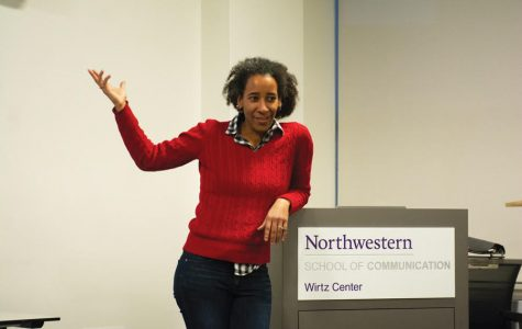 Diana Adesola Mafe. The English professor discussed her research on black women in speculative fiction at an event on Monday.