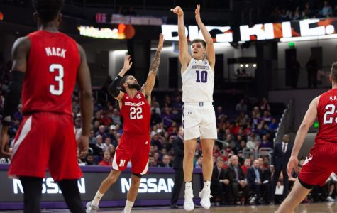 Men's Basketball: Northwestern holds on for its first Big Ten win of the season