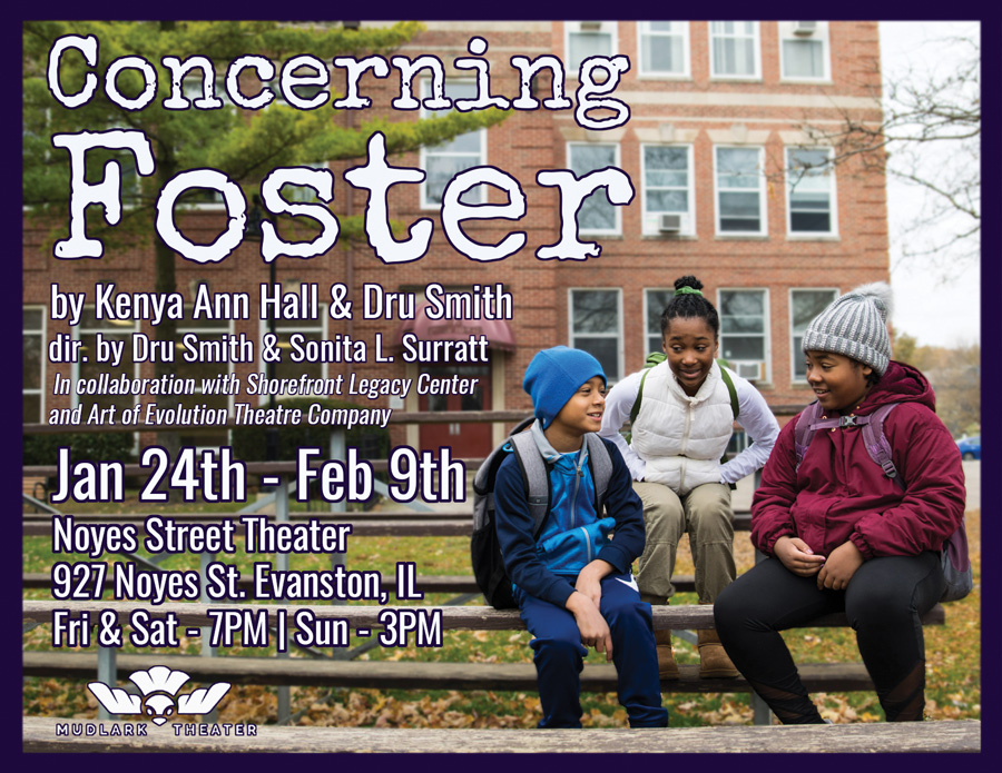 """Concerning Foster."" The new play will premiere at Mudlark Theater in Jan. 24."
