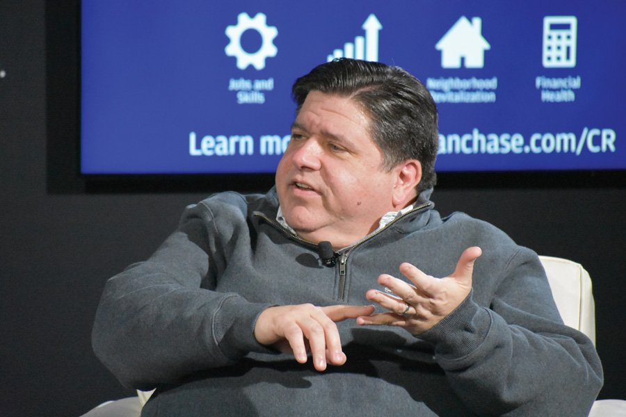 Illinois Gov. J.B. Pritzker. Pritzker released a five-year plan in October with the intent of revitalizing the state's economy.