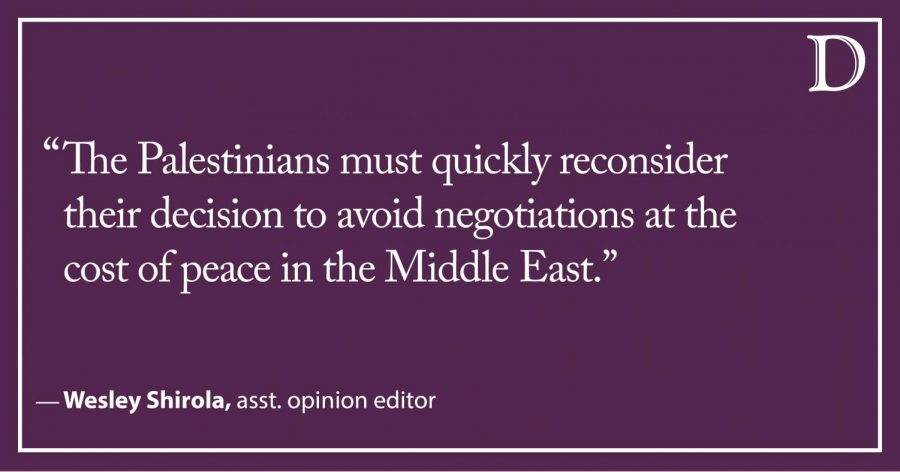 Shirola: Palestinians should reconsider adamant rejection of Trump's Middle East peace plan