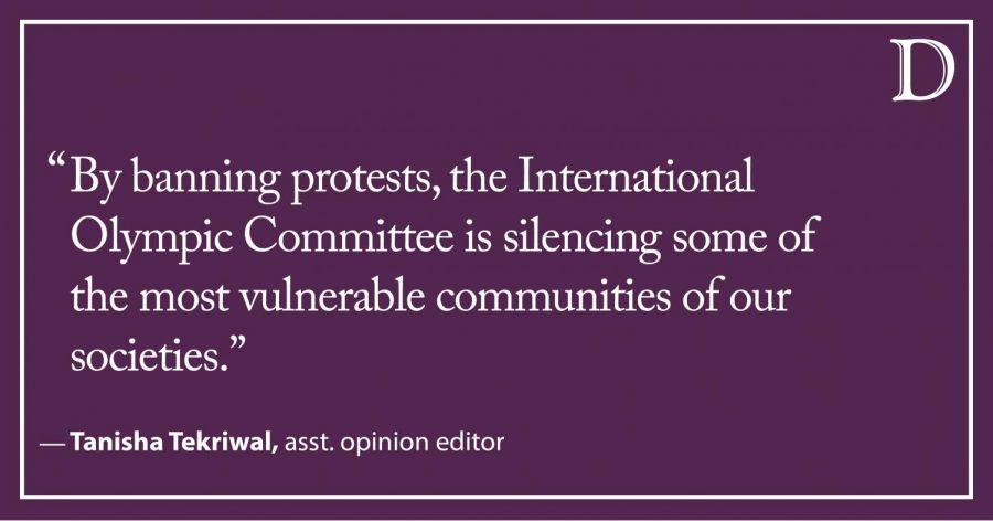 Tekriwal: Blaming political problems on sports activism 101