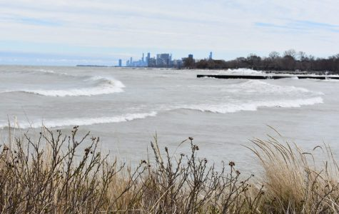 Lake Michigan. The lake has experienced some of the highest water levels on record, and the rising trend is expected to continue.
