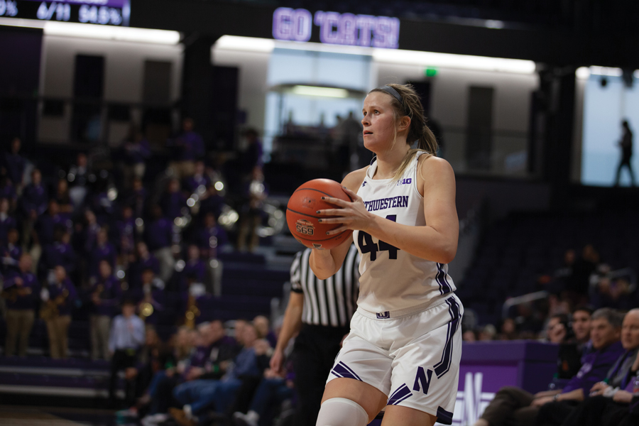 Women's Basketball: Behind Scheid and Pulliam, Northwestern surges to 85-59 victory over Penn State