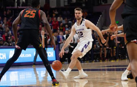 Men's Basketball: Northwestern fumbles away late lead to Maryland