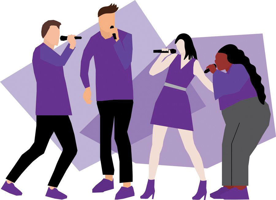 Student a cappella groups prepare for fall recruitment, album release and upcoming showcase.