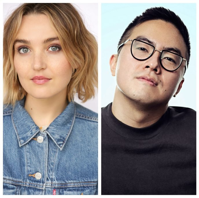 Chloe Fineman and Bowen Yang. Fineman and Yang will co-headline A&O Productions Winter Speaker event.