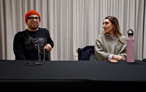Professor Ray San Diego and Ashley Kraus spoke at a panel about gender in the fashion industry. The panel was hosted by STITCH Magazine in advance of their next issue about sex, which comes out on Feb. 28.