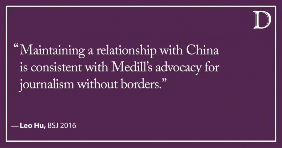 Letter to the Editor: Call for NU to boycott China counterproductive and unjustified