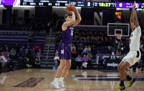 Men's Basketball: Purdue steals win in final seconds, hands Northwestern 10th Big Ten loss