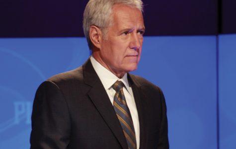 "Alex Trebek, the host of ""Jeopardy!"" McCormick Freshman Beni Keown will appear on ""Jeopardy!"" in early April."