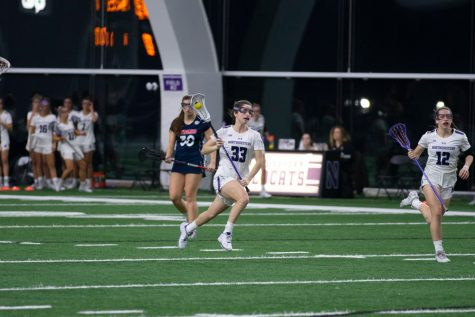 Lacrosse: Behind Dwyer's record performance, Cats roll Arizona State
