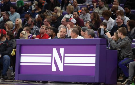 Chris Collins, Brian James and Jim Phillips scout Patrick Baldwin Jr. Northwestern is planning for its 2021 recruiting class to change the trajectory of the program.