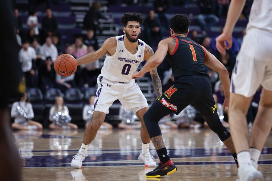 Freshman guard Boo Buie wowed the crowd with his ball-handling skills, but his efforts couldn't lift Northwestern to a win. Buie scored 15 in the Cats' loss.