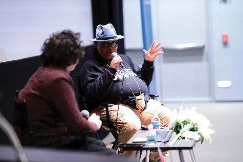 "Artist-in-residence and professor ""memorialize"" Toni Morrison and Audre Lorde in dialogue"
