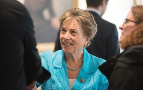 U.S. Rep. Jan Schakowsky (D-Evanston). Schakowsky voted to remove President Donald Trump from office on charges of abuse of power and obstruction of Congress on Wednesday.