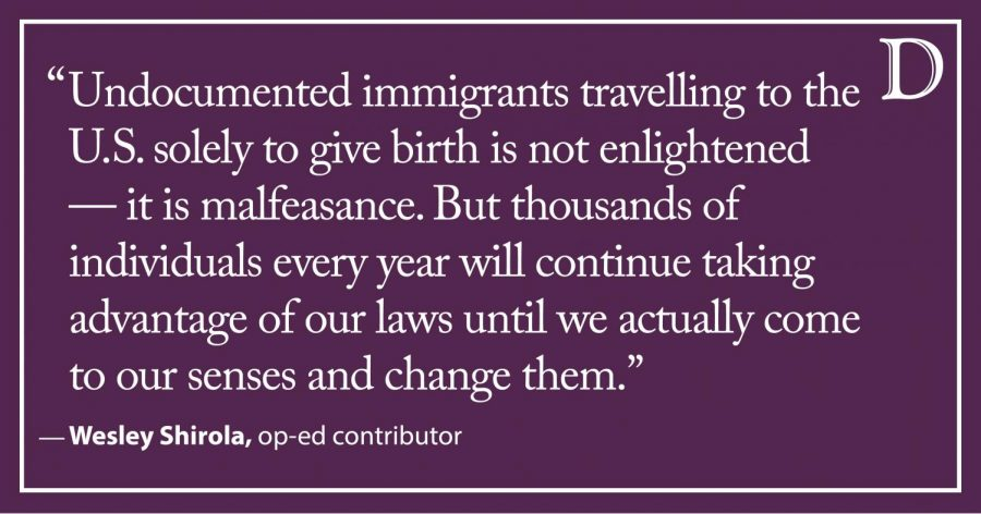Shirola: It's time to end birthright citizenship
