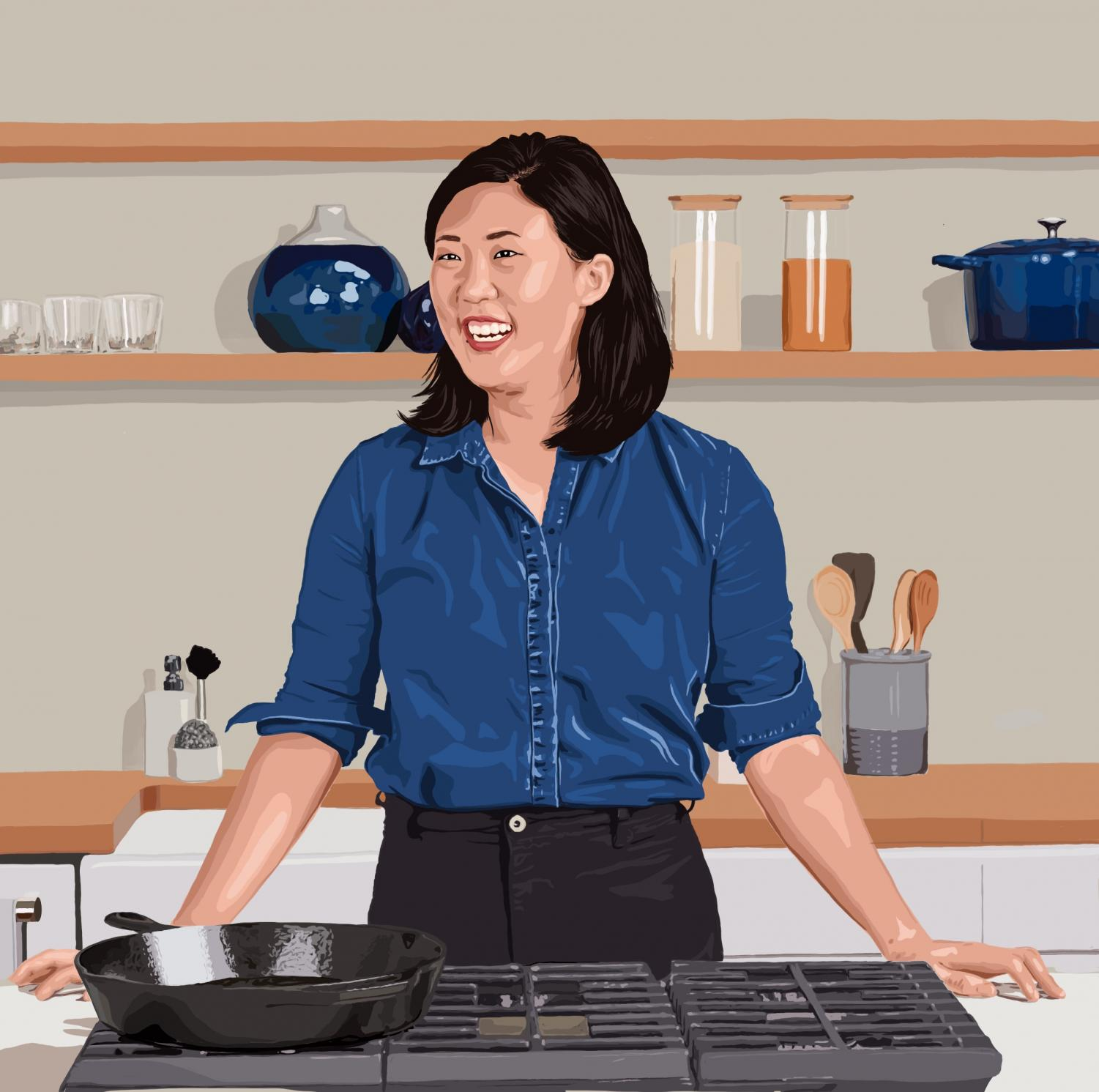 The Daily Northwestern Nu Alum Christina Chaey Is Slicing And Dicing Her Way Into Bon Appetit S Test Kitchen Videos