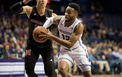 Isiah Brown drives to the hoop. The guard transferred from Northwestern to Grand Canyon after the 2017-18 season.