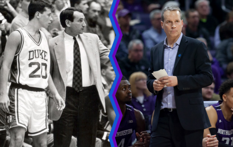 Chris Collins has applied lessons from his junior year at Duke to this year's Northwestern team.