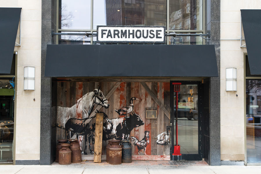 Farmhouse+Tavern%2C+703+Church+St.+The+restaurant+was+one+of+three+in+the+Evanston+area+to+participate+in+Chicago+Restaurant+Week.