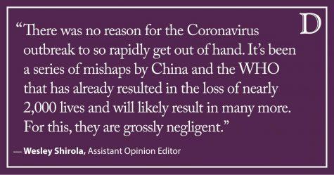 Shirola: China, WHO grossly negligent in coronavirus responses